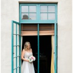 Bridal Portrait by Window Photo | The Prado Wedding Photo | San Diego Balboa Park Wedding Photographer | Kristine Marie Photography