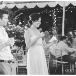 Toasts Photo | San Diego Botanic Wedding Photographer | Kristine Marie Photography