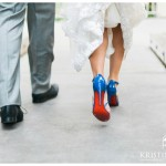 Something Blue | Louboutin Wedding Shoes | Paradise Point Resort Wedding Photo | San Diego Wedding Photographer | Kristine Marie Photography