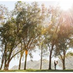 Scenic Photo of Bride and Groom | Temecula Creek Inn Wedding | Kristine Marie Photography
