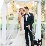 Dog in a Wedding | Talega Golf Club Wedding Photo | Kristine Marie Photography