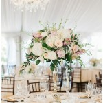 Santa Luz Club Wedding Floral Table Centerpiece | San Diego Wedding Photographer | Kristine Marie Photography