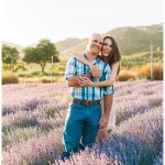 Keys Creek Lavender Farm Wedding and Engagement Photos | Kristine Marie Photography