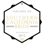 published on Southern California Bride | Kristine Marie Photography