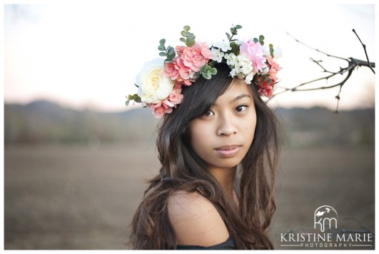 How To Make A Flower Crown Diy For A Boho Chic Bride