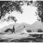 The First Look | Temecula Creek Inn Wedding Photo | Temecula Wedding Photographer | Kristine Marie Photography | © www.kristinemariephotography.com