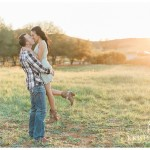 Romantic Sunset Woodsy Engagement Photo | San Diego Poway Engagement Photographer