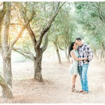 Romantic Woodsy Engagement Photo | San Diego Poway Engagement Photographer