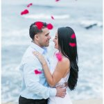 Romantic La Jolla Cove Beach Engagement | San Diego Wedding Photographer | © Kristine Marie Photography www.kristinemariephotography.com (12)