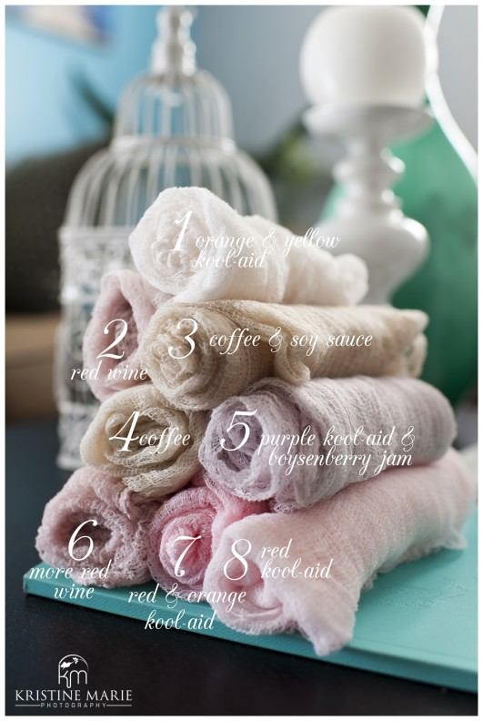 How to make newborn wraps diy newborn photography prop san diego how to dye cheesecloth wraps for newborn photography san diego newborn photographer c solutioingenieria Image collections